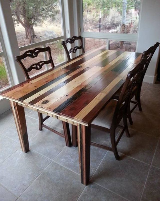 Pallet table furniture