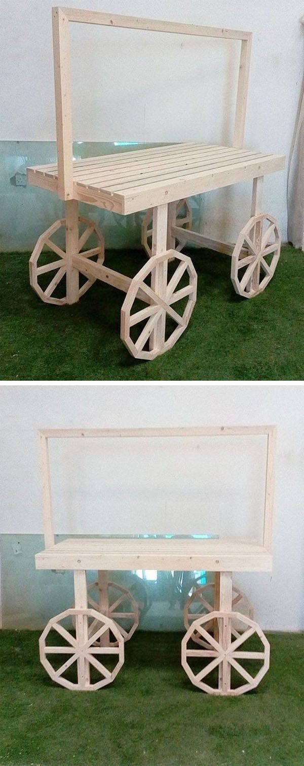 Pallet Outdoor cart