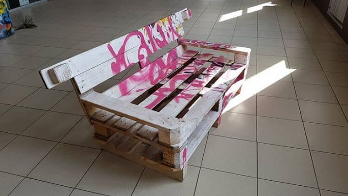 awesome diy palelt bench ideas