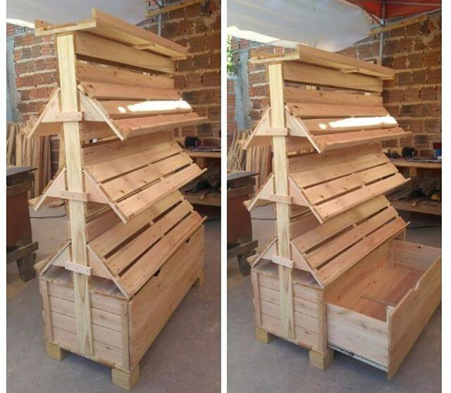 Pallet shelf ideas