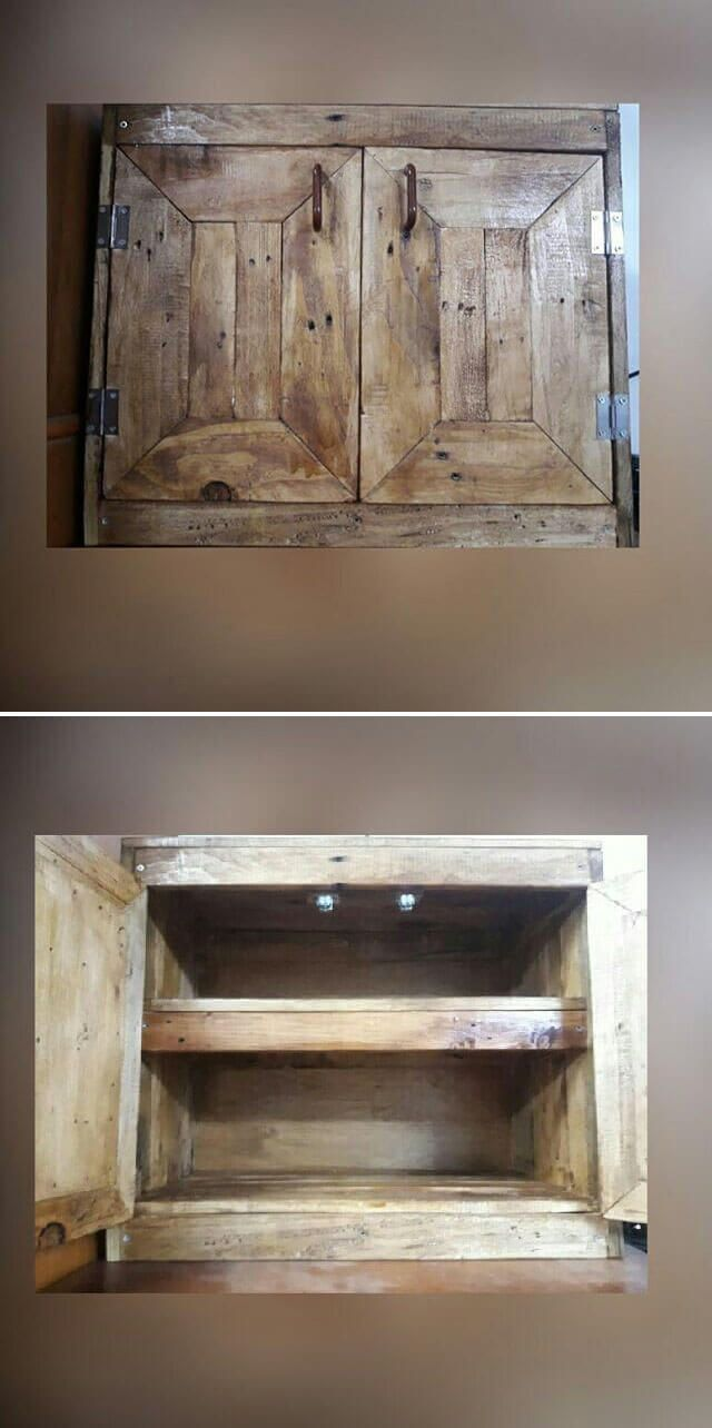 diy wood pallet storage projects