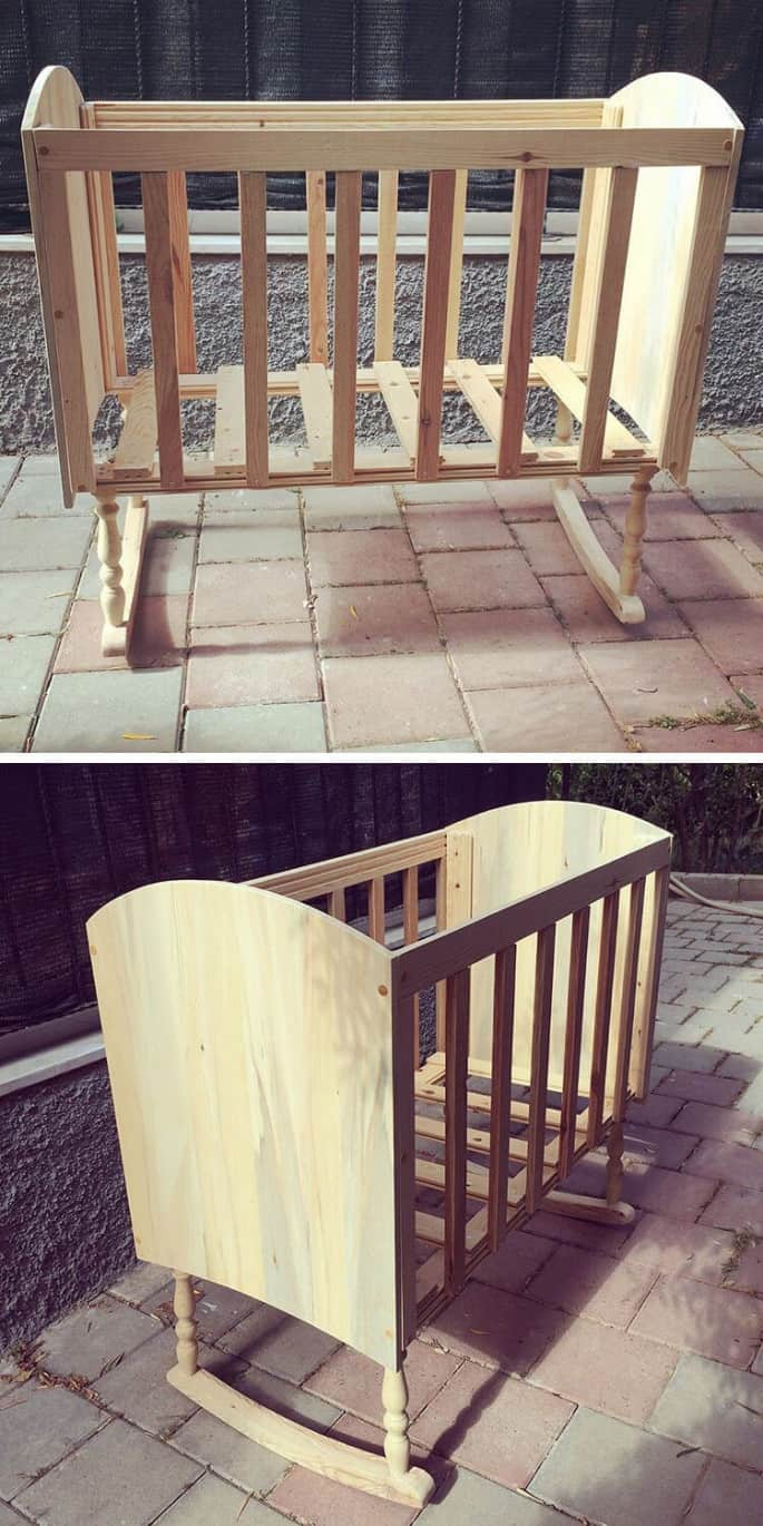 pallet kids bed ideas made from wood