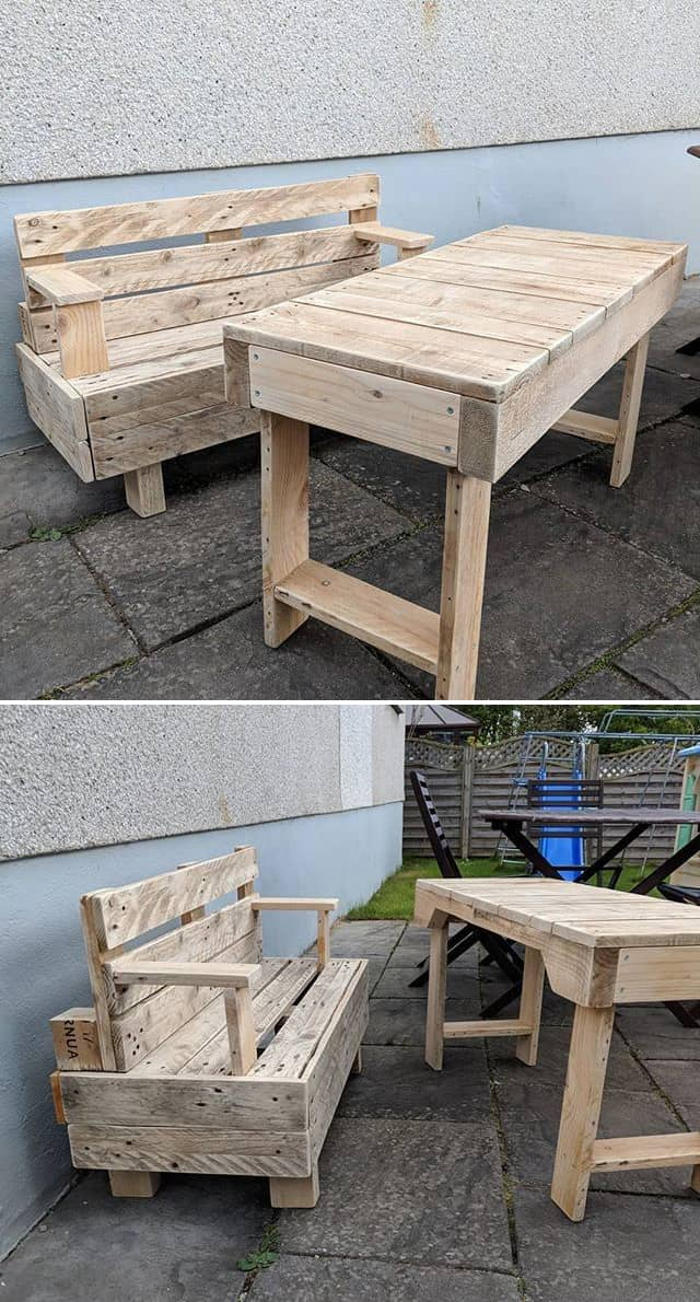 pallet coffee table ideas for meetings