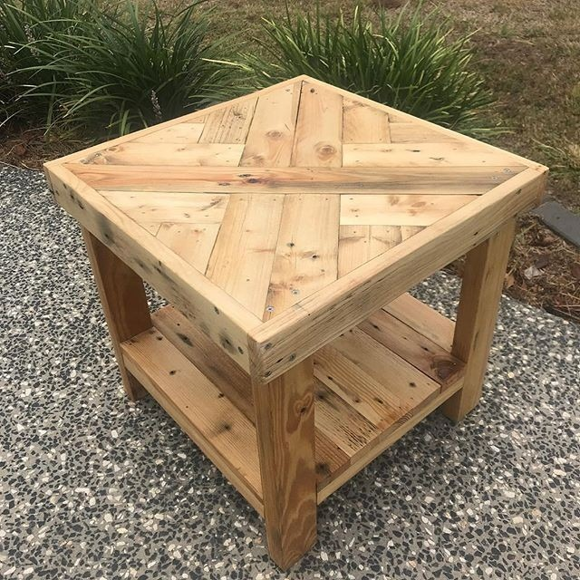 Pallet outdoor table ideas