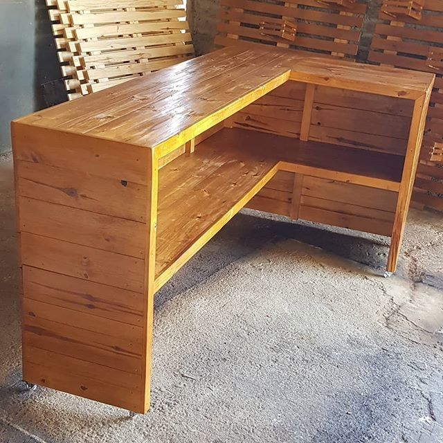 Pallet elegant bar ideas