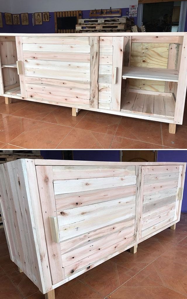 Pallet storage cabinets projects
