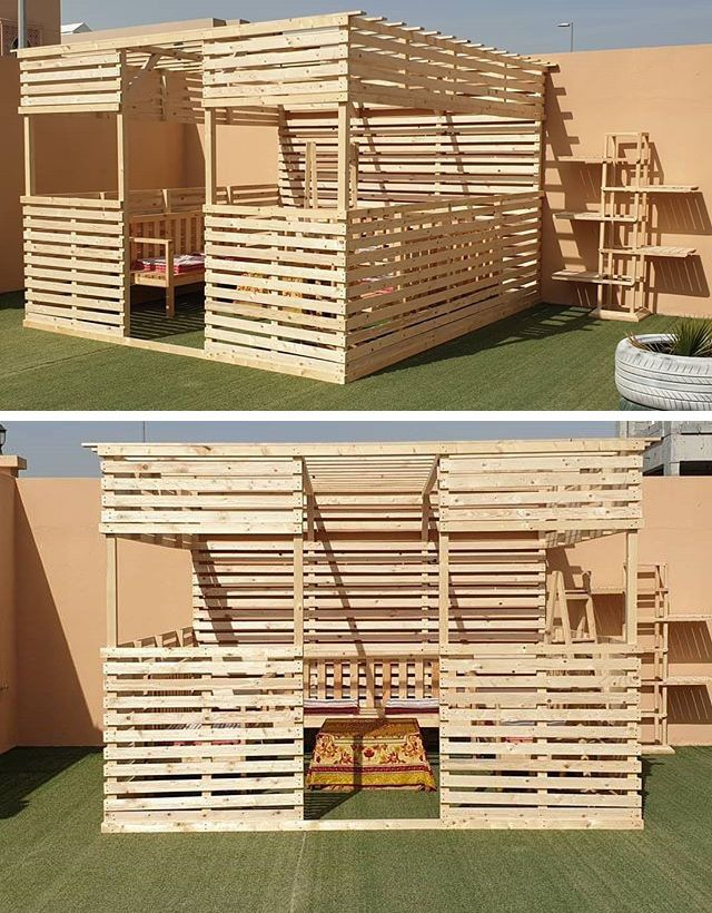 Pallet outdoor Sitting furniture projects
