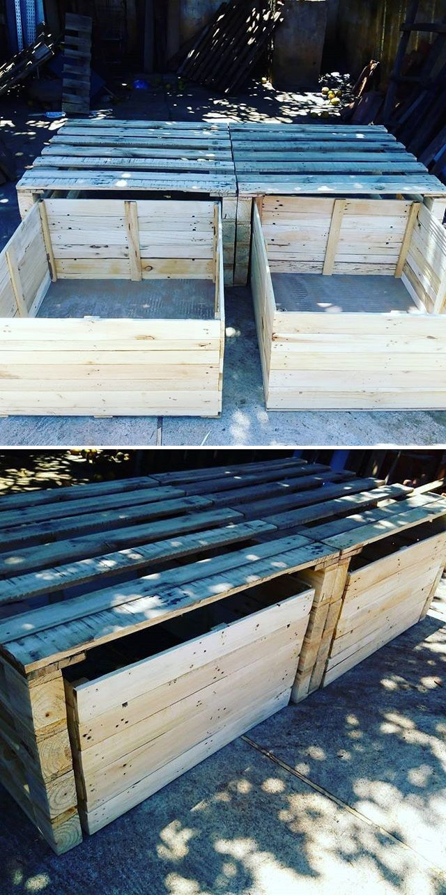 Pallet shoes rack projects