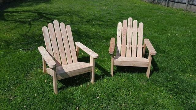Pallet outdoor chair ideas