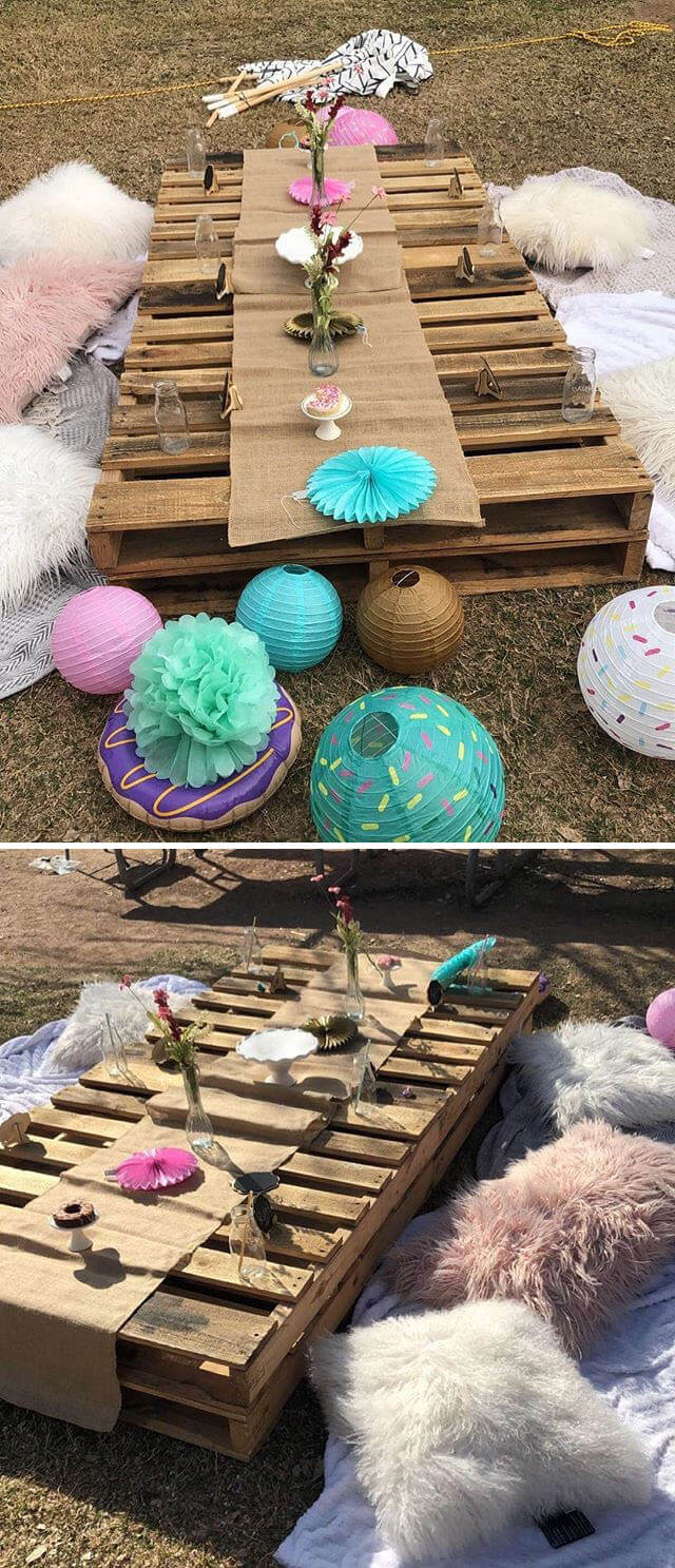 pallet project for garden