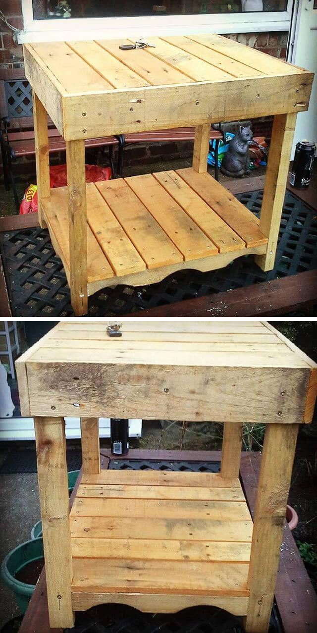 pallet small table project